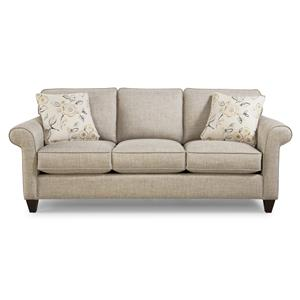 Craftmaster 7421 Memoryfoam Sleeper Sofa