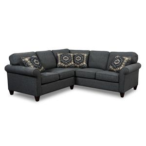 Craftmaster 742100 2 Pc Sectional Sofa
