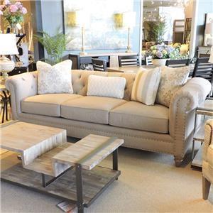 Craftmaster Emma Tufted Sofa