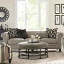 Craftmaster 7431BD-7432BD Sofa w/ Small Nailheads - Item Number: 743150BD-SIREN-41