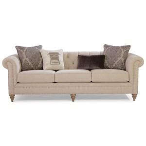 Large Sofa w/ Tack Nails