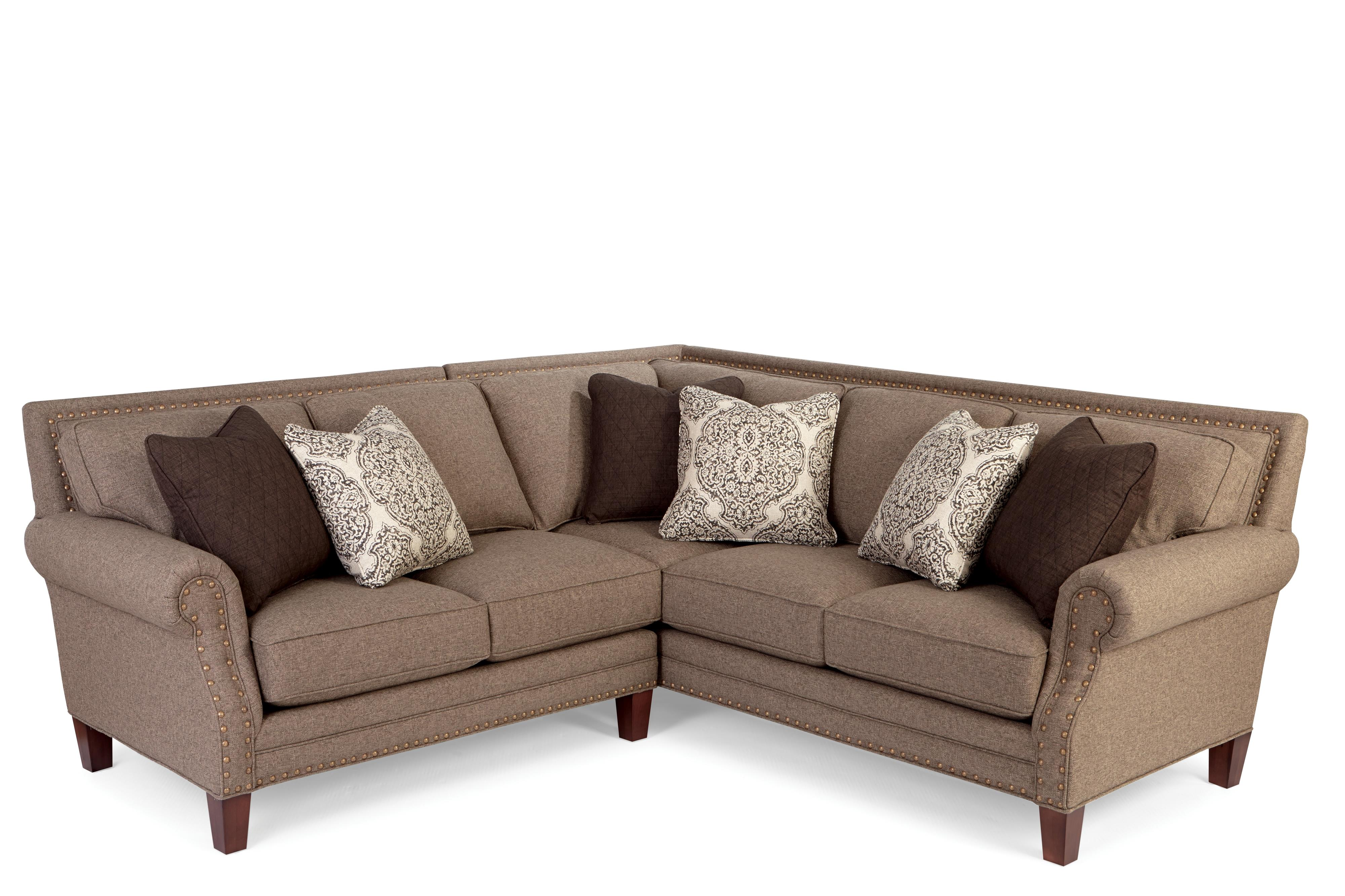 Craftmaster 747155 2 Pce Upholstered  Sectional - Item Number: 747115