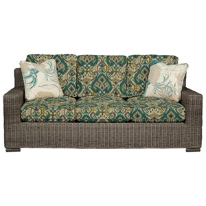 Cozy Life 750700 Wicker-Framed Sofa