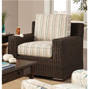 Craftmaster 750800 Wicker-Framed Chair