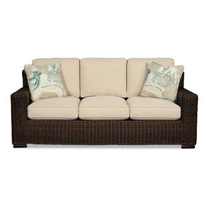 Craftmaster 750800 Wicker-Framed Sofa