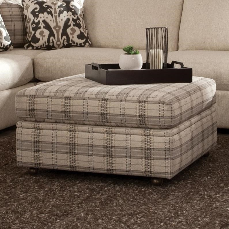 751100 Storage Ottoman by Craftmaster at Baer's Furniture