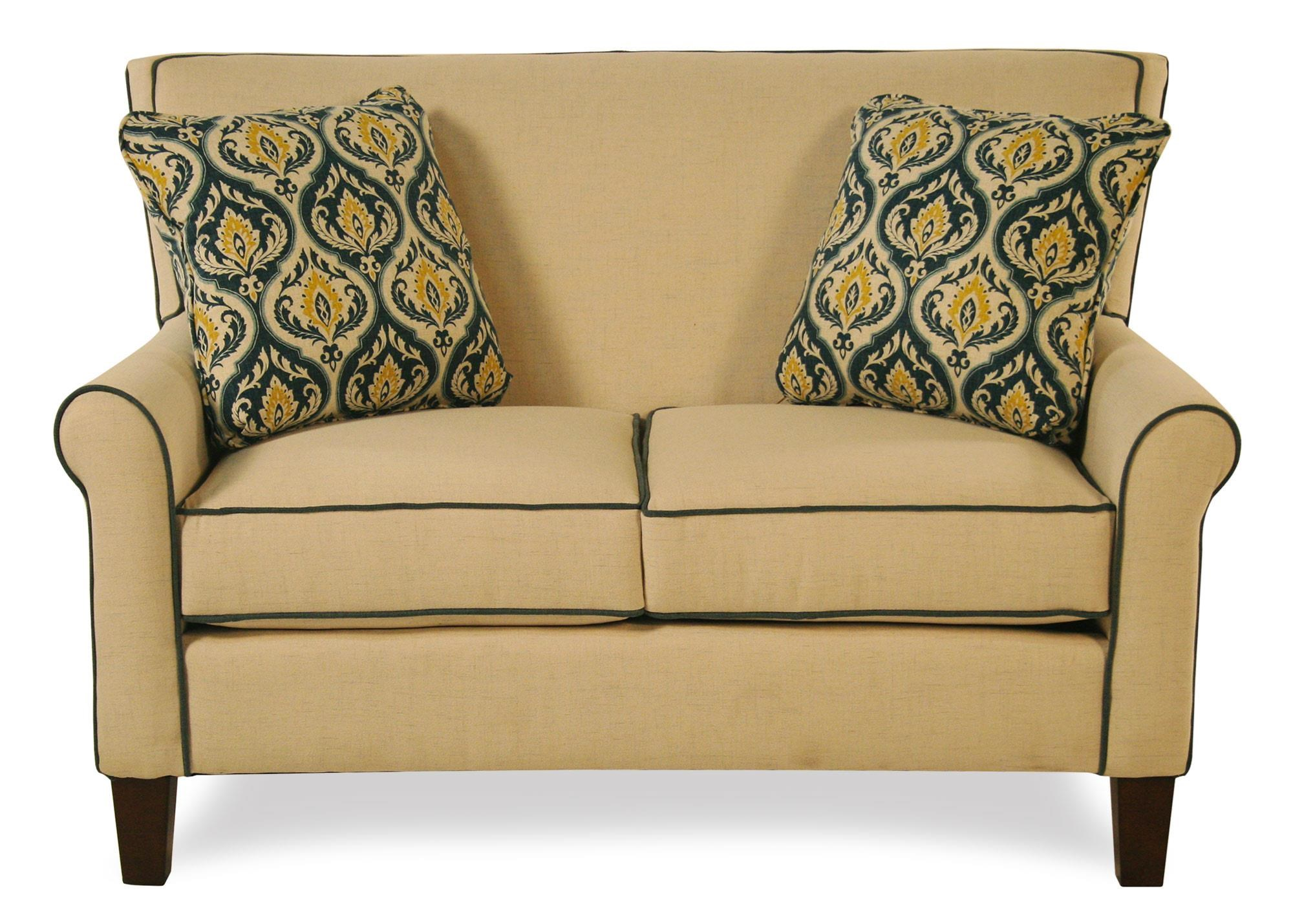 Cozy Life Mazie Tight Back Loveseat - Item Number: 751630-BAMBOO31