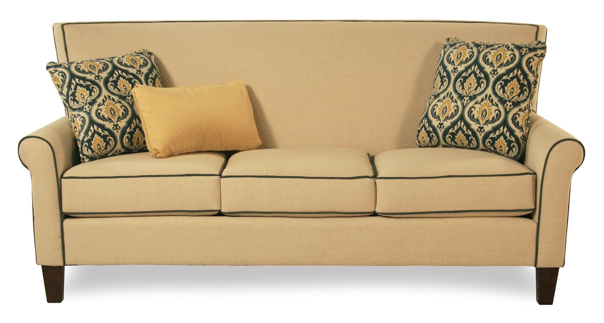 Cozy Life Mazie Tight Back Sofa - Item Number: 751650-BAMBOO31