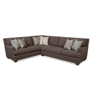 Craftmaster 753650 Traditional Sectional Sofa