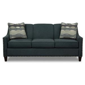 Craftmaster 756300-756400 Sofa w/ Pewter Nails