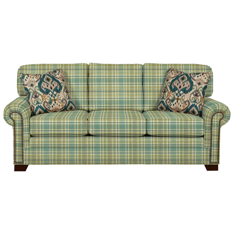 Craftmaster 7565 Sleeper Sofa - Item Number: 756550-68-ABERNATHY-21