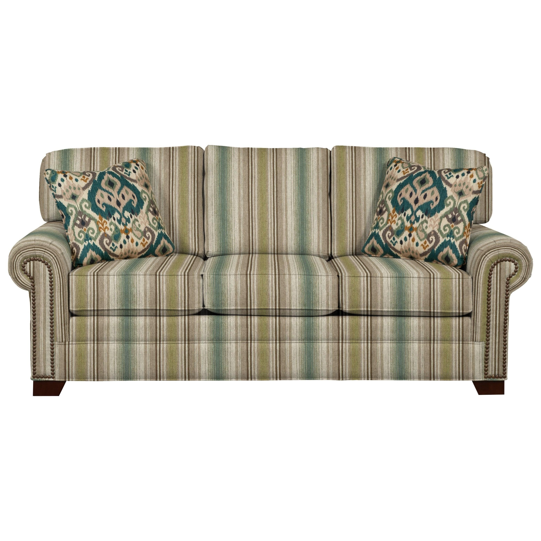 Craftmaster 7565 Sleeper Sofa - Item Number: 756550-68-LISMORE-15