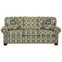 Cozy Life 756500 Queen Sleeper Sofa with Memory Foam Mattress - Item Number: 756550-98-BRUSH DOT-22
