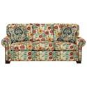 Cozy Life 756500 Queen Sleeper Sofa with Memory Foam Mattress - Item Number: 756550-98-LUNA-25