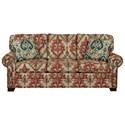Cozy Life 756500 Queen Sleeper Sofa with Memory Foam Mattress - Item Number: 756550-98-TARASCAN-26