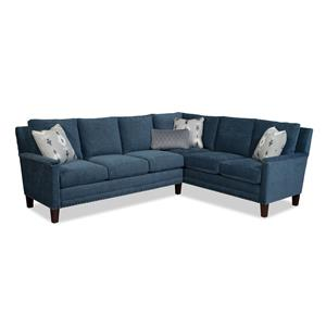 Craftmaster 759700-759800 2 Pc Sectional Sofa