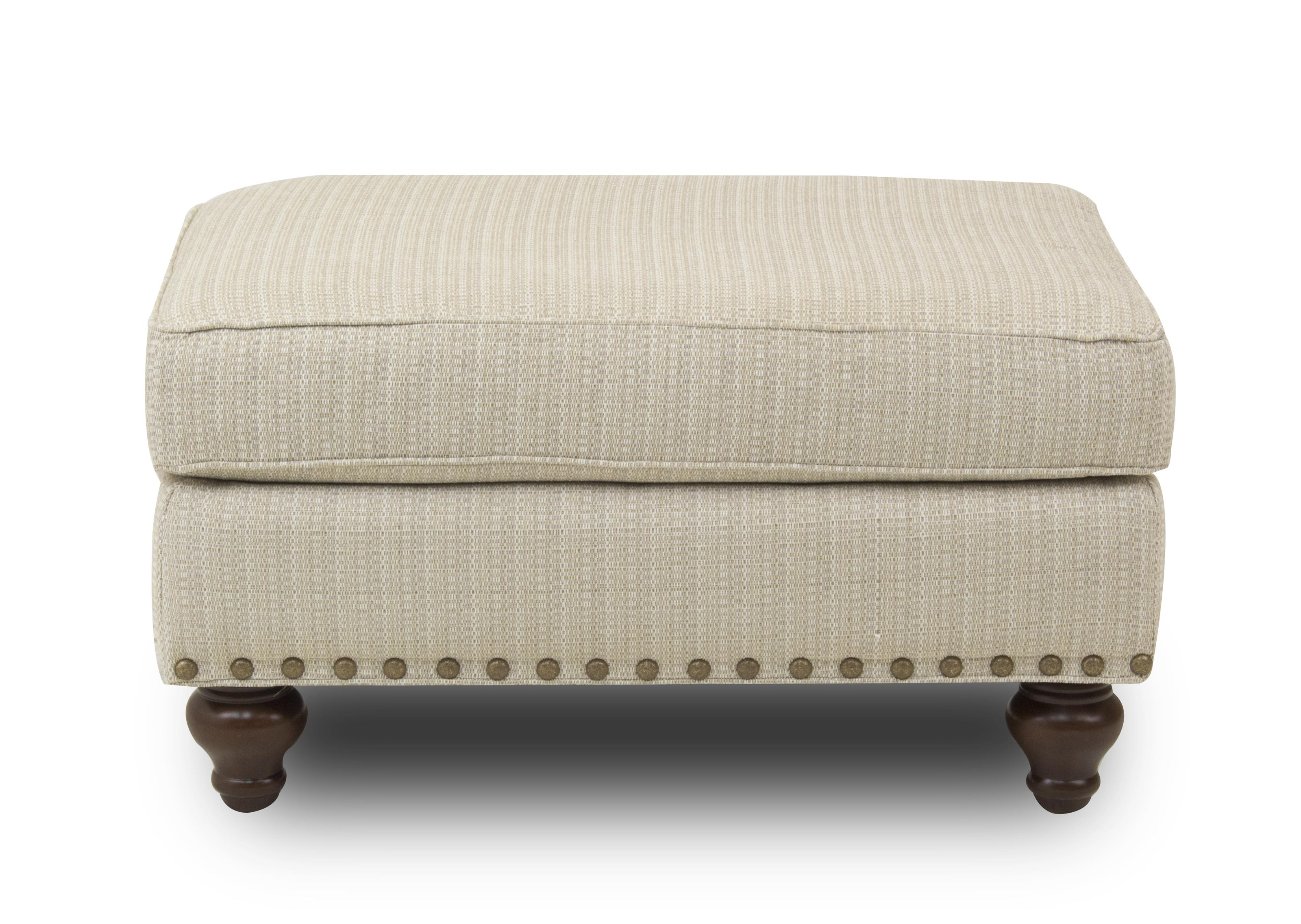 Hickory Craft Marion Ottoman - Item Number: 17762-O