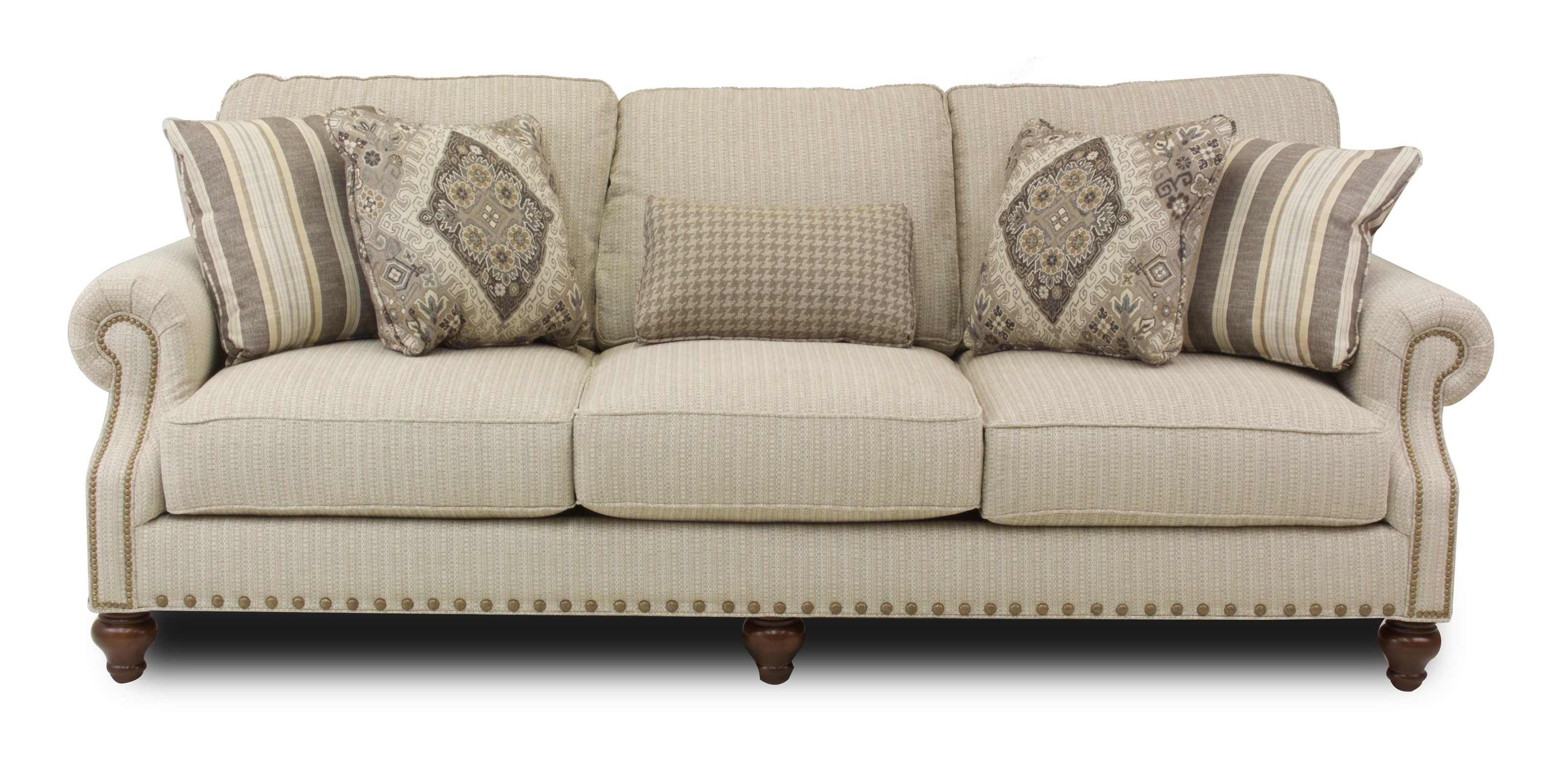 Hickory Craft Marion Traditional Sofa - Item Number: 17762-S