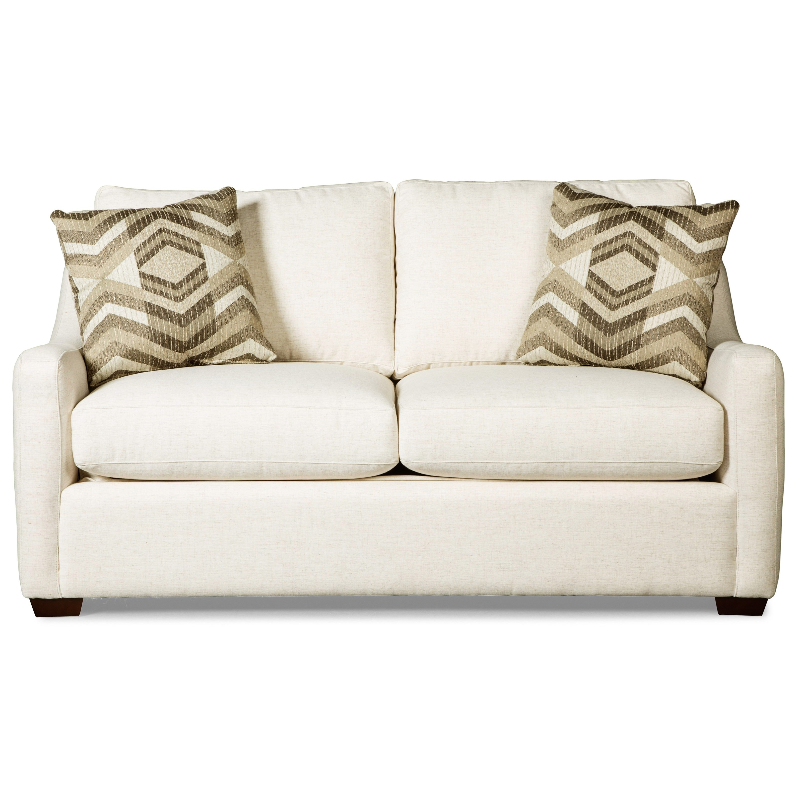 Craftmaster 7643 full size sleeper sofa w memoryfoam mattres item number 764350