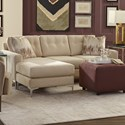 Craftmaster 7661 Sofa w/ Chaise - Item Number: 766157-POPSTITCH 10
