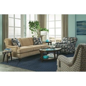 Craftmaster 766700 Living Room Group