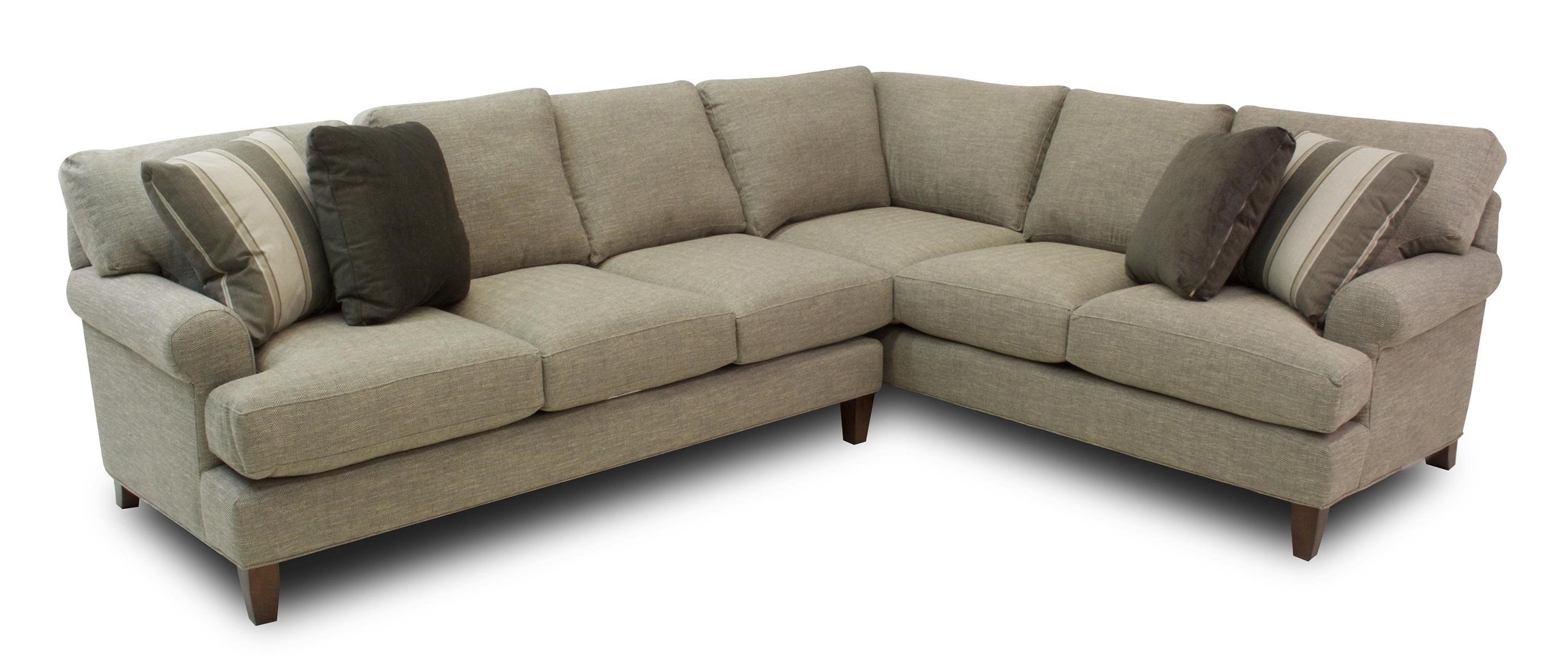 Hickory Craft Latte 2-Piece Sectional - Item Number: 1776-2PC