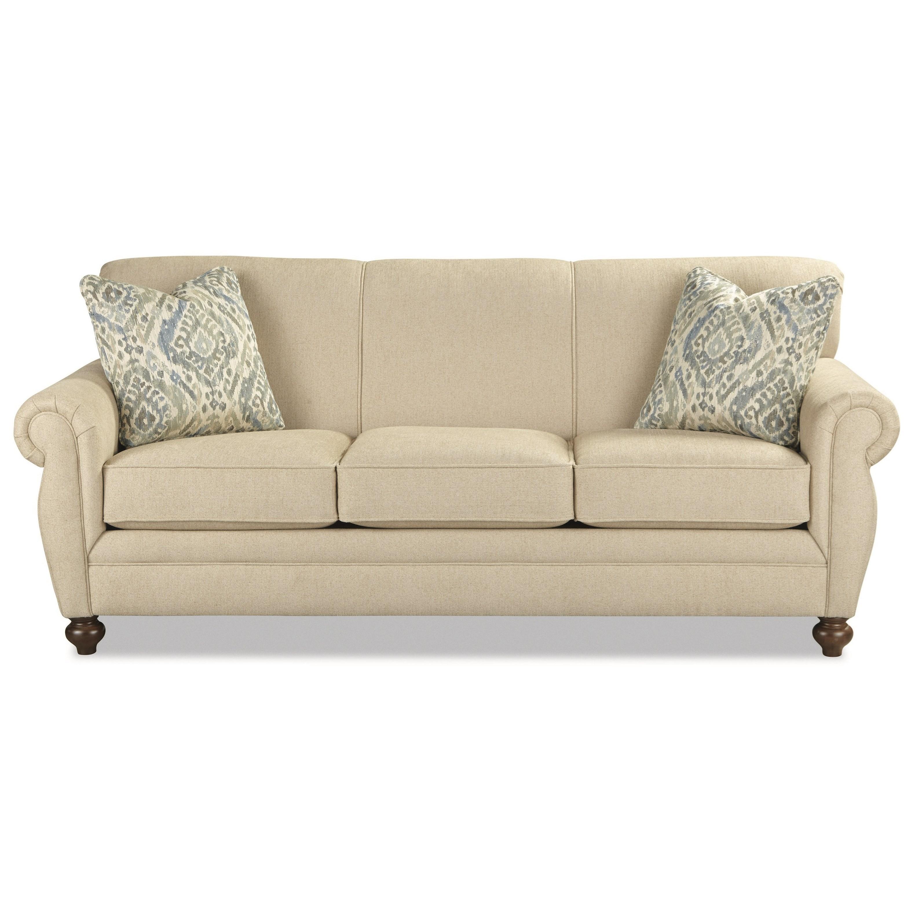 Craftmaster 7679 Sleeper Sofa w/ Memory Foam Mattress - Item Number: 767950-98-EXCEL-10