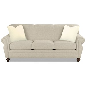 Sleeper Sofa w/ Memory Foam Mattress