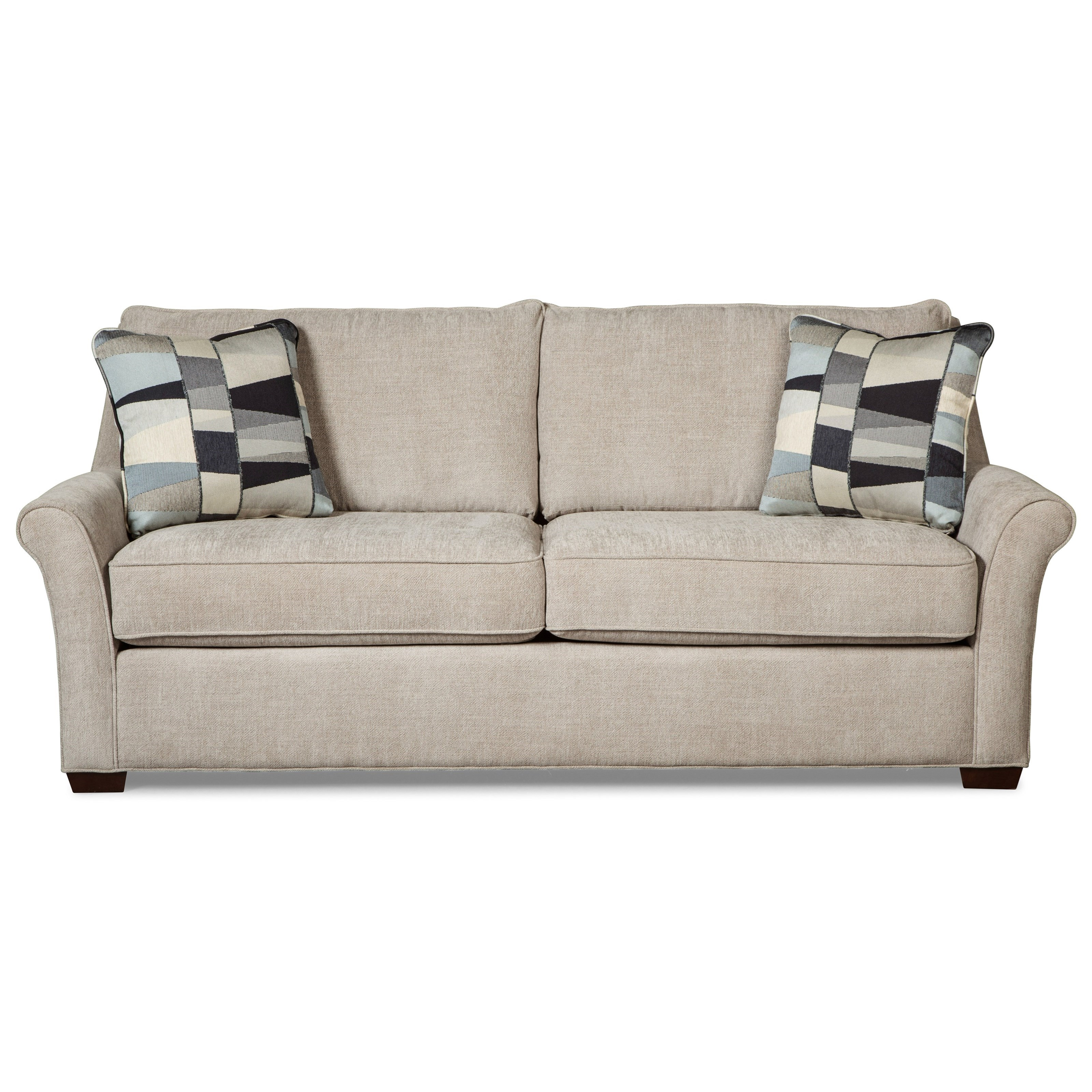 Craftmaster 7686 Queen Sleeper Sofa W/ Innerspring Mattress   Item Number:  768650 68