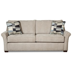 Craftmaster 768600 Queen Sleeper Sofa w/ Innerspring Mattress