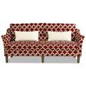 Craftmaster 7691-7692 Sofa w/ Bench Seat - Item Number: 769170-DECREE-26