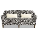Craftmaster 7691-7692 Sofa w/ Bench Seat - Item Number: 769170-LOLITA-45