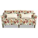 Craftmaster 7691-7692 Sofa w/ Bench Seat - Item Number: 769170-LUNA-25
