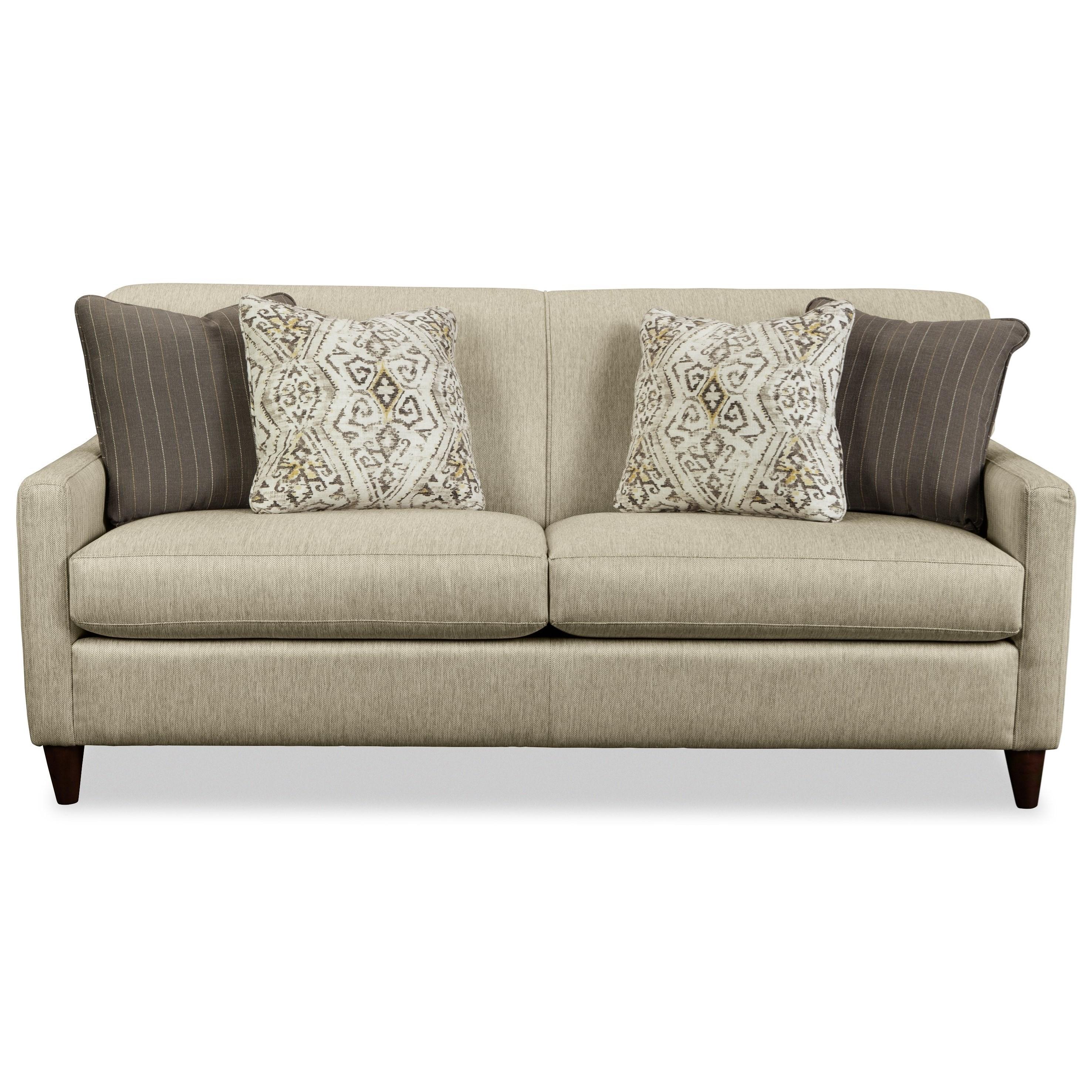 Craftmaster 770450 770450 Contemporary Apartment-Size Sofa