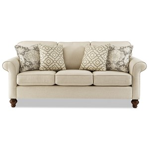 MemoryFoam Queen Sleeper Sofa