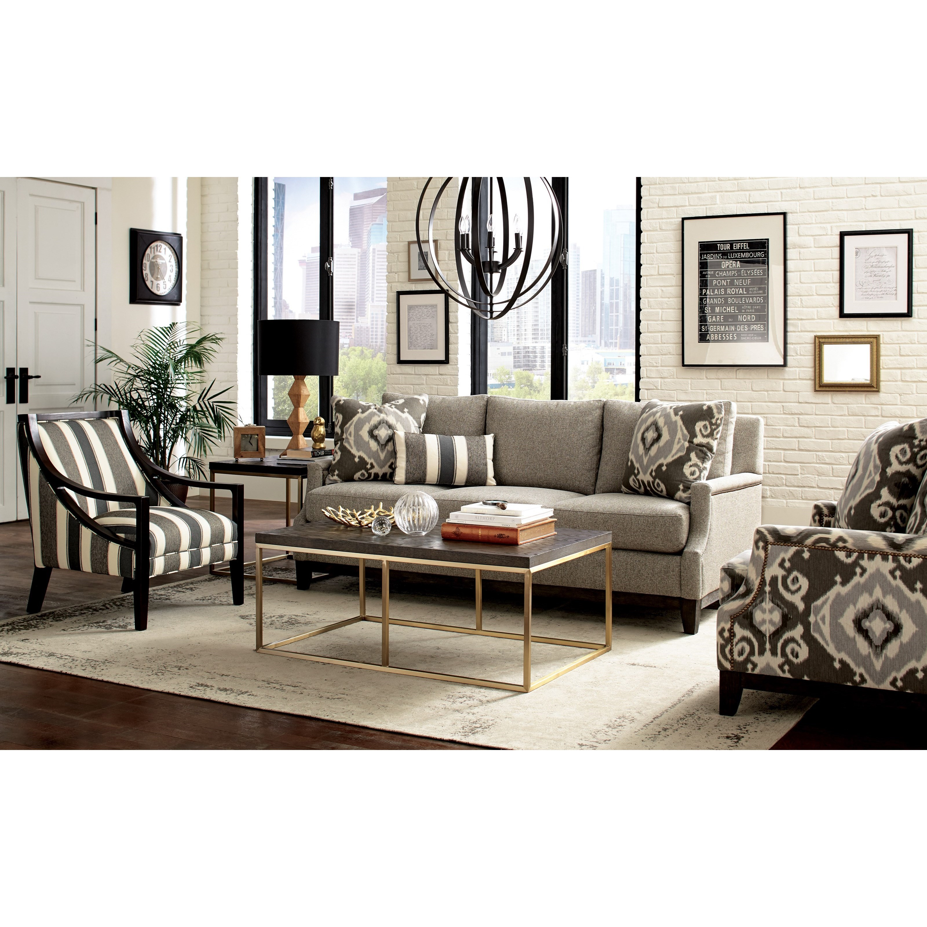 Craftmaster 775750-775850-775950-77650 Living Room Group - Item Number: 775850 Living Room Group 1