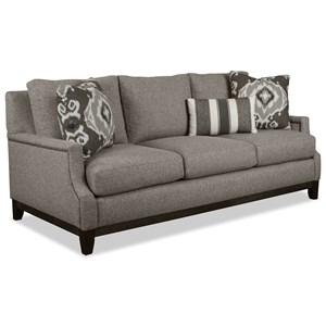 Sofa w/ Brass Nails