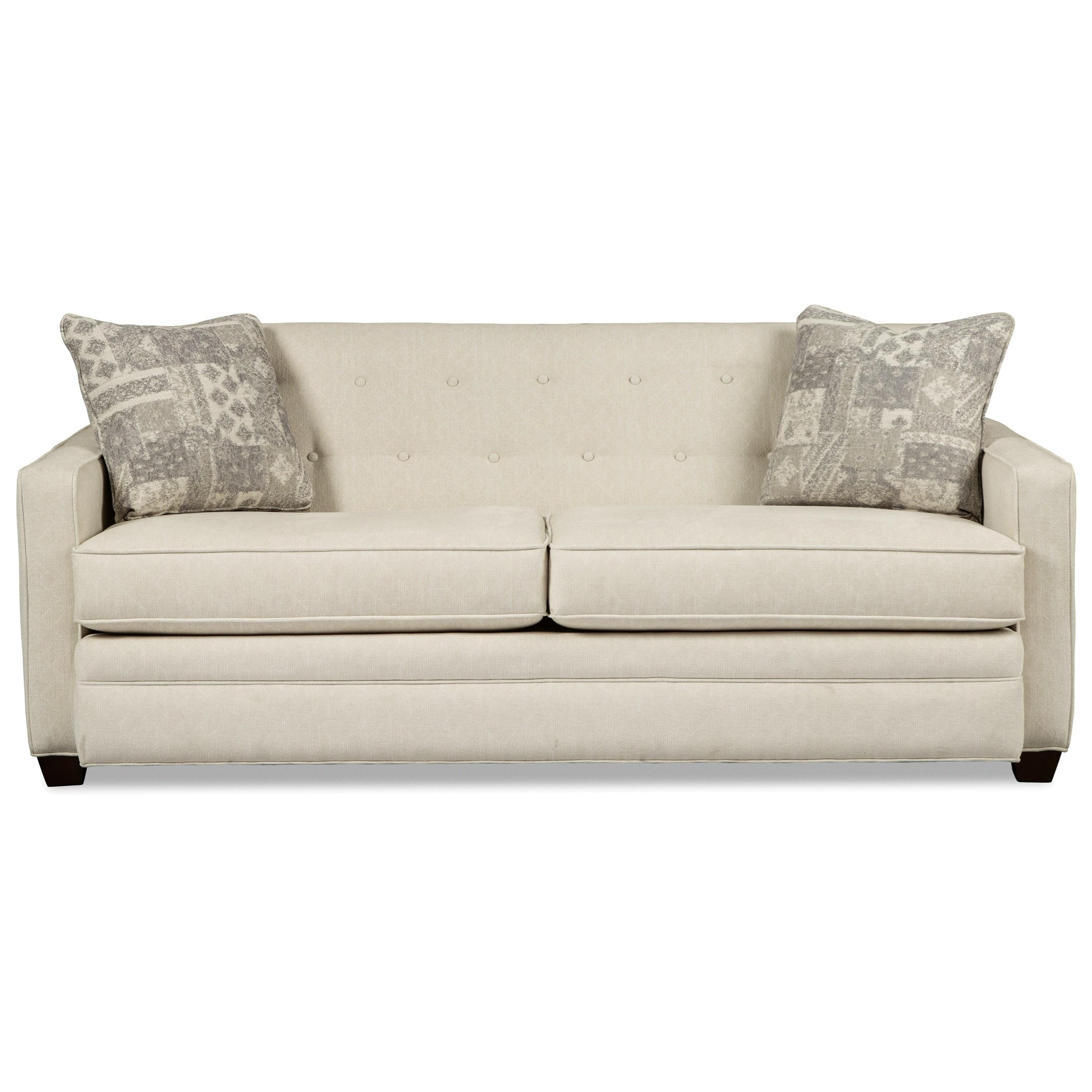 Fabulous Craftmaster 777150 Contemporary Tufted Sofa Belfort Machost Co Dining Chair Design Ideas Machostcouk