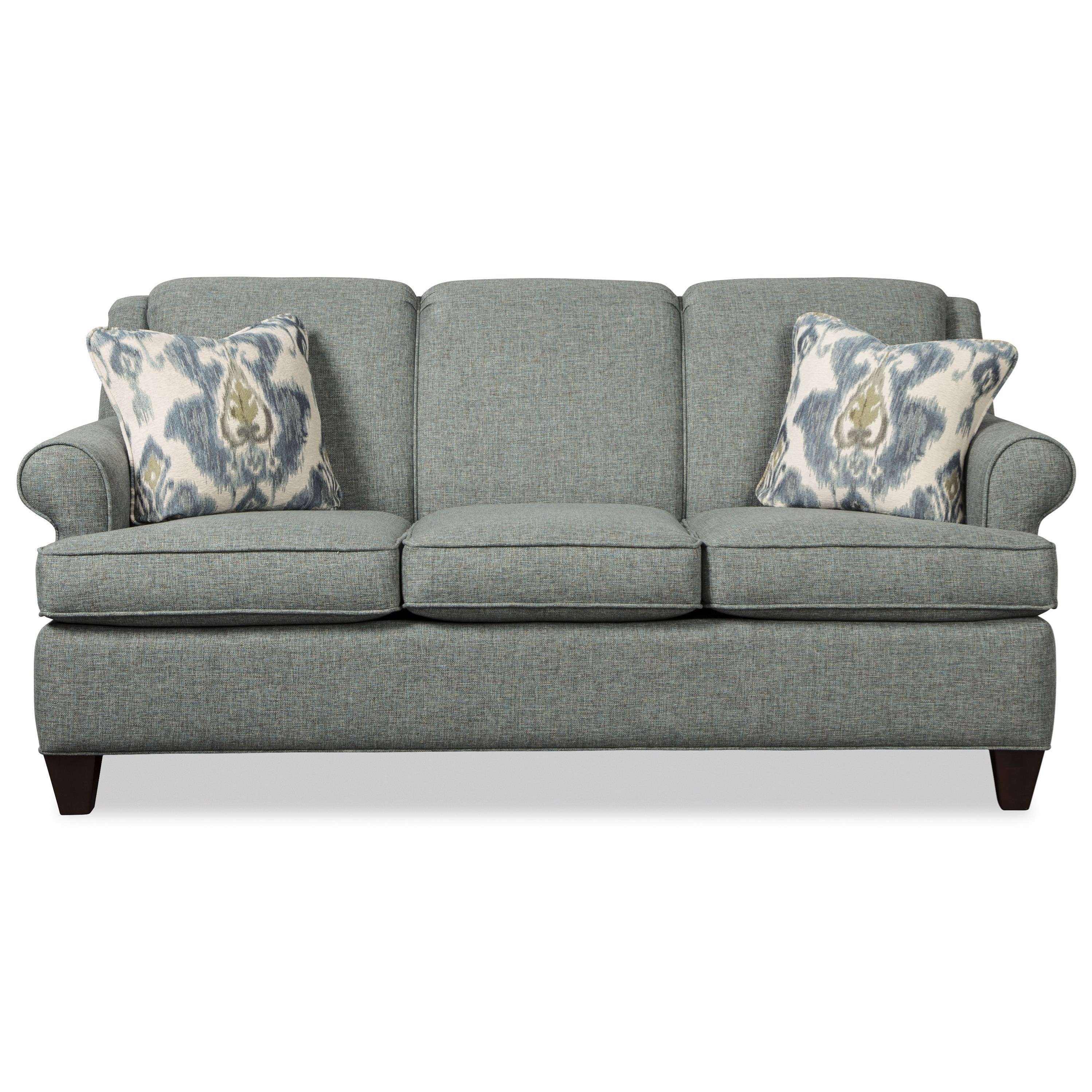 Craftmaster 781850 Transitional 73 Inch Sleeper Sofa With