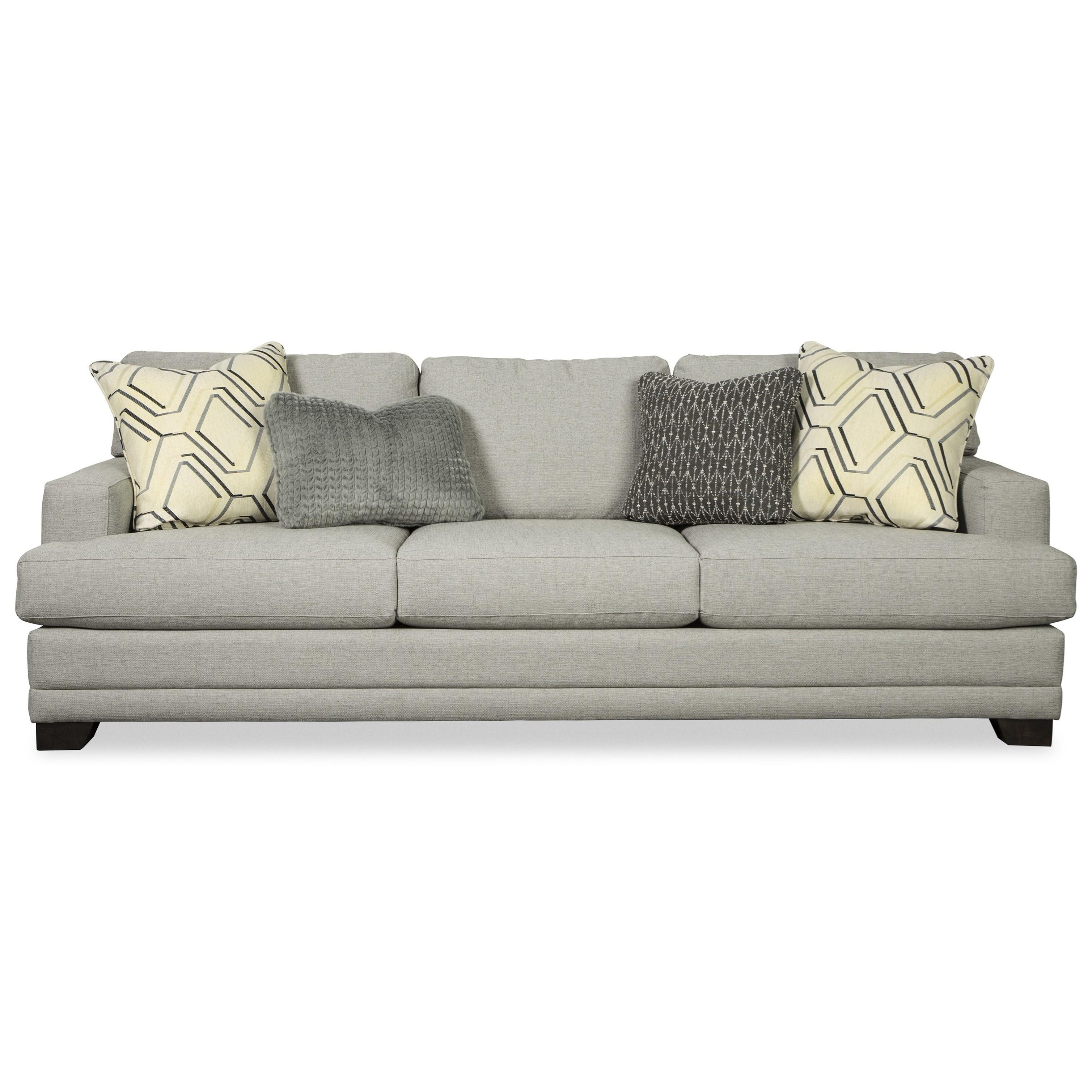 "Craftmaster 782650 Large 100"" Sofa With Deep Seats"