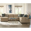 Craftmaster 783950 5-Seat Sectional Sofa with LAF Chaise - Item Number: 783942BD+33BD+34BD+31BD-NOTION-10