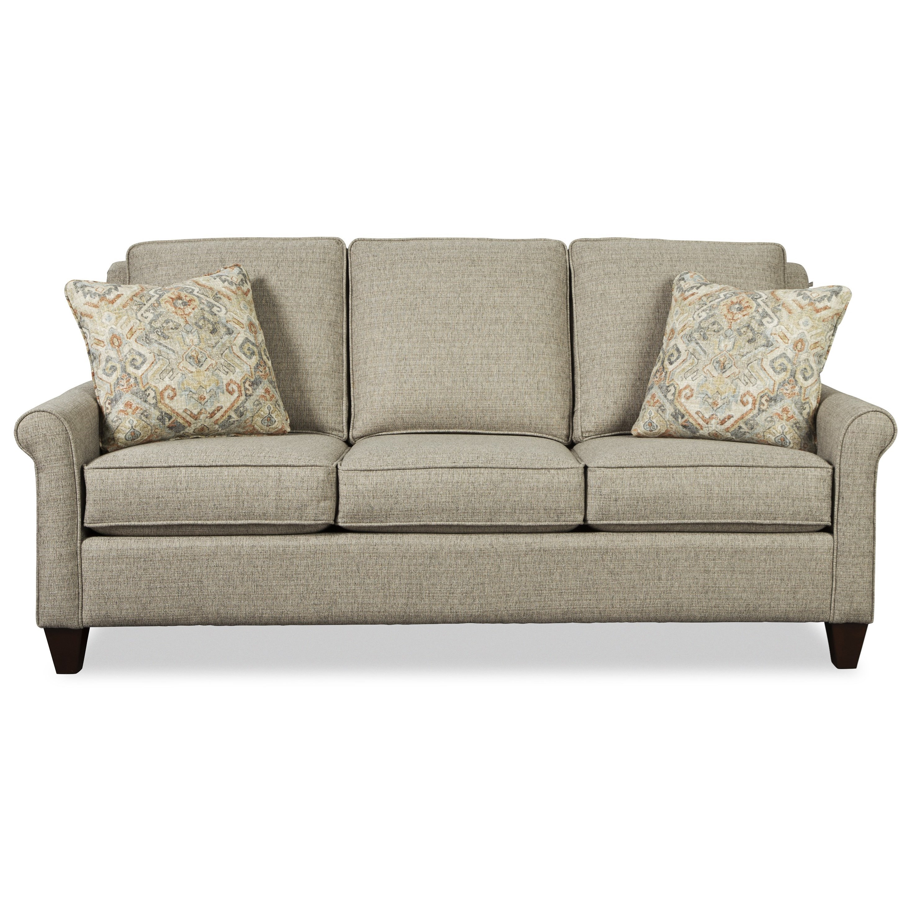 Craftmaster 784850 Casual 79 Inch Sofa With Queen Sleeper