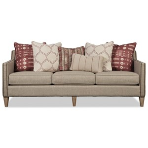 Sofa w/ Weathered Oak Legs