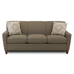 Hickory Craft Lana Contemporary Sofa