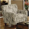 Craftmaster 7864 Contemporary Chair - Item Number: 786410-EVERGREEN-09