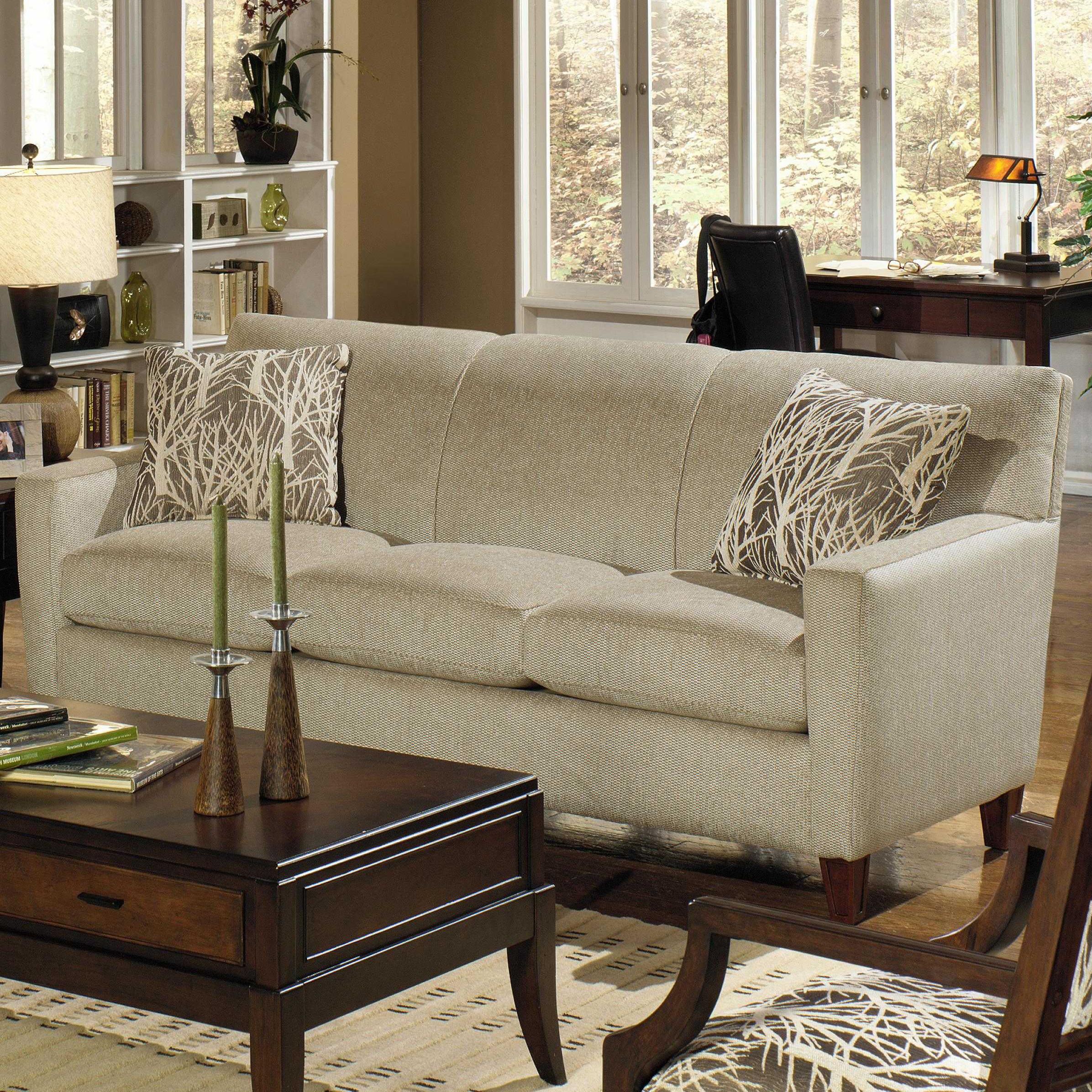 Craftmaster 7864 Contemporary Sofa Fmg Local Home Furnishing Sofas