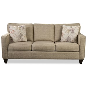 Craftmaster 791950 Contemporary Apartment Sofa with Memory ...