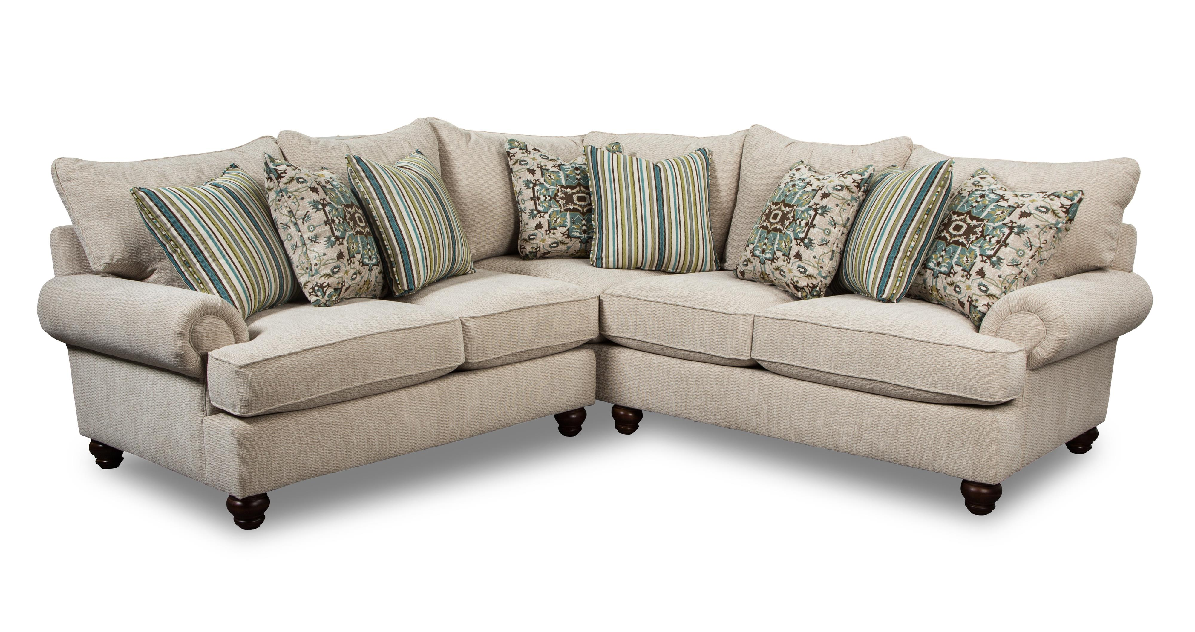 Craftmaster 7970 2 Pc Sectional Sofa Item Number 797032pc 797055pc Virginia