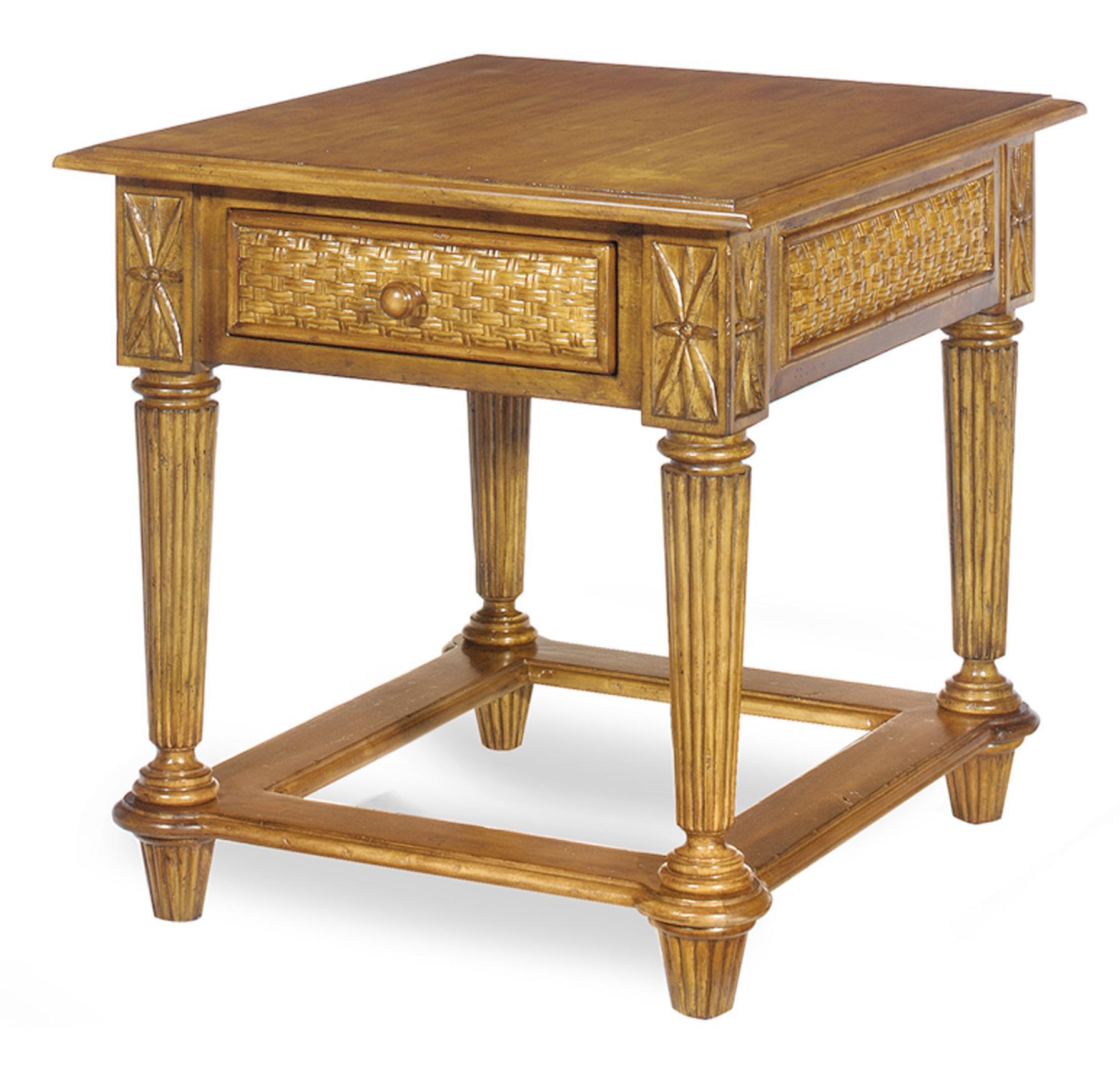 Craftmaster 340 End Table - Item Number: SE723