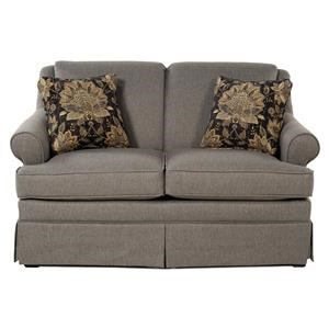 Cozy Life Audrey Roll Arm Loveseat